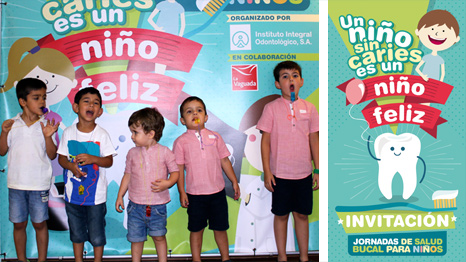 Eventos infantiles sobre salud dental